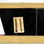 Mafonso / Cosa Mentale Tecnica mista su cartone + telaio cm 40x20 Anno 1978 Collez. privata Roma